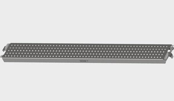 Dog Ear Type Steel Plank